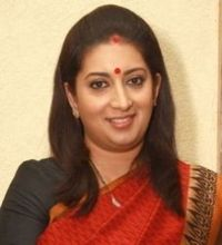 Smriti Irani on ArtisteBooking
