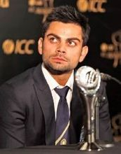 Virat Kohli on ArtisteBooking