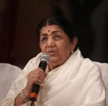 Lata Mangeshkar on ArtisteBooking